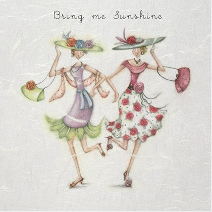 Greeting Card - Bring me Sunshine