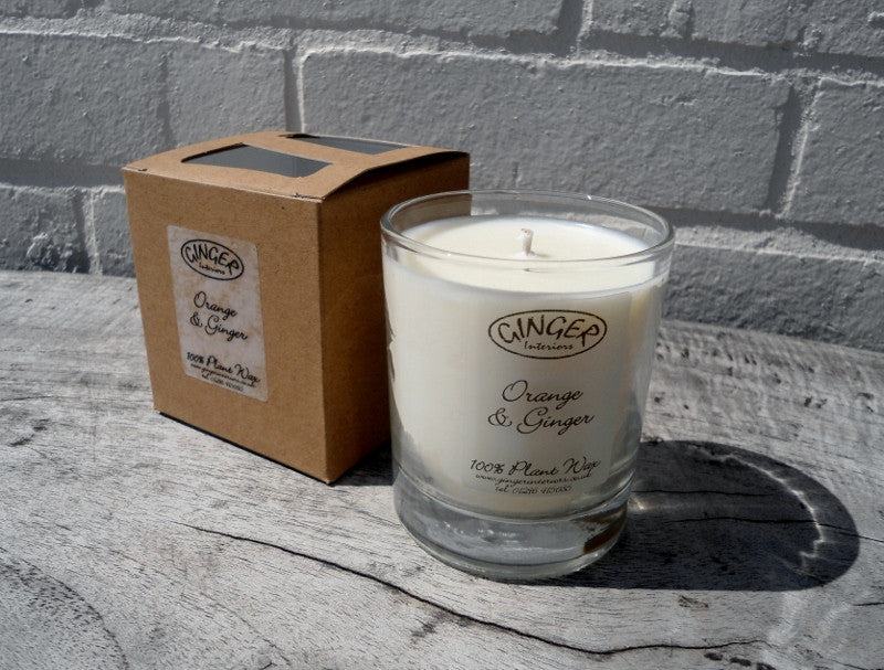 Scented Candle 20cl - Citrus - Orange and Ginger