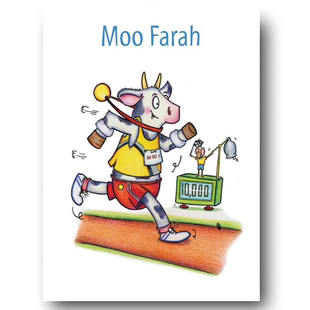 Cow Card - Moo Farah