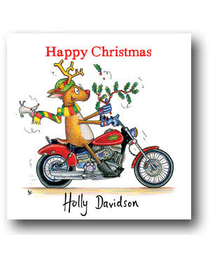 Funny Christmas Card - Holly Davidson