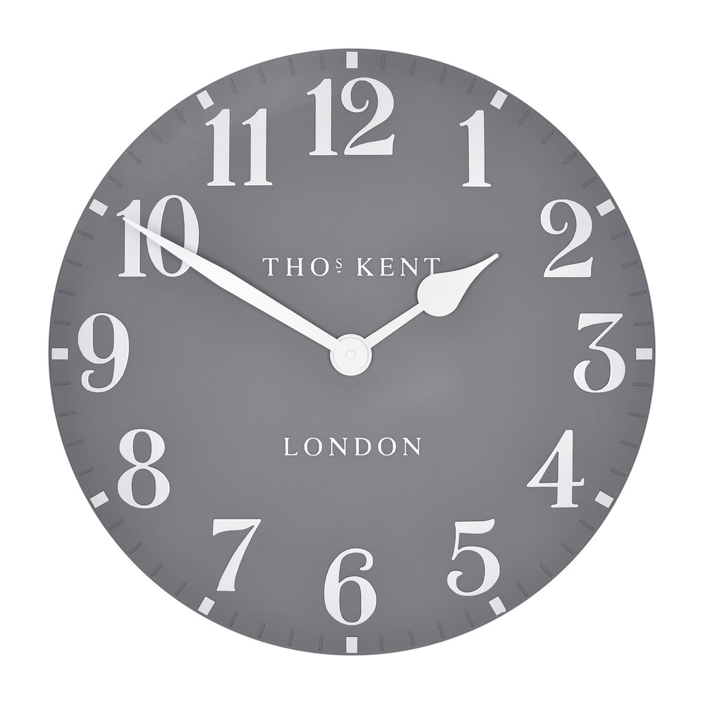Thomas Kent Arabic Wall Clock - 20inch Dolphin