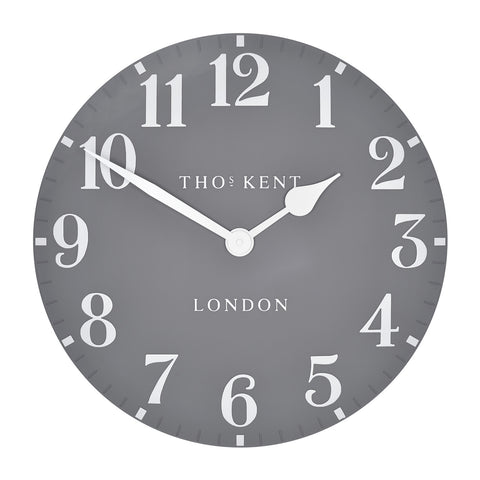 Arabic Dolphin 12inch Wall Clock - Thomas Kent