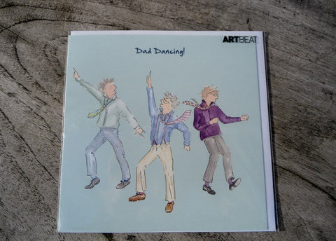 Dad Greeting Card - Dad Dancing!