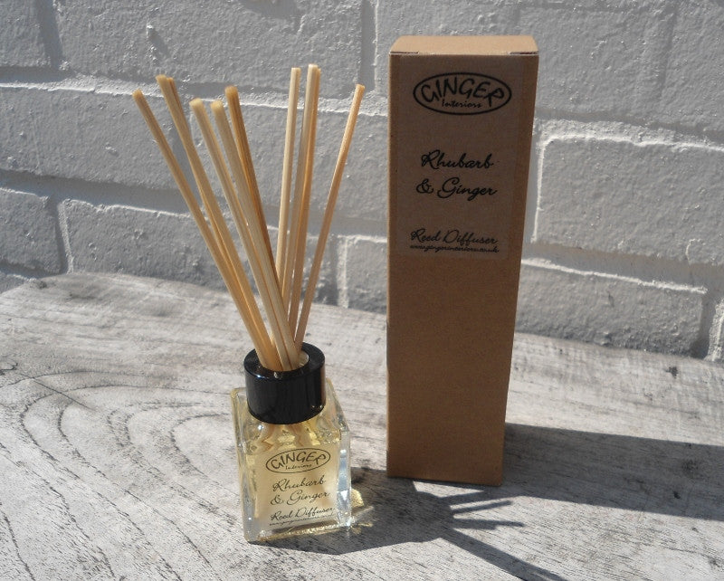 Reed Diffuser 50ml - Kitchen - Rhubarb and Ginger