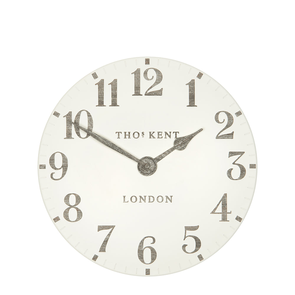 Limestone Thomas Kent wall Clock