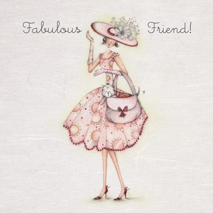 Greeting Card - Fabulous Friend! Berni Parker