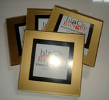 Gold Frame Photo Coasters - Set of 4