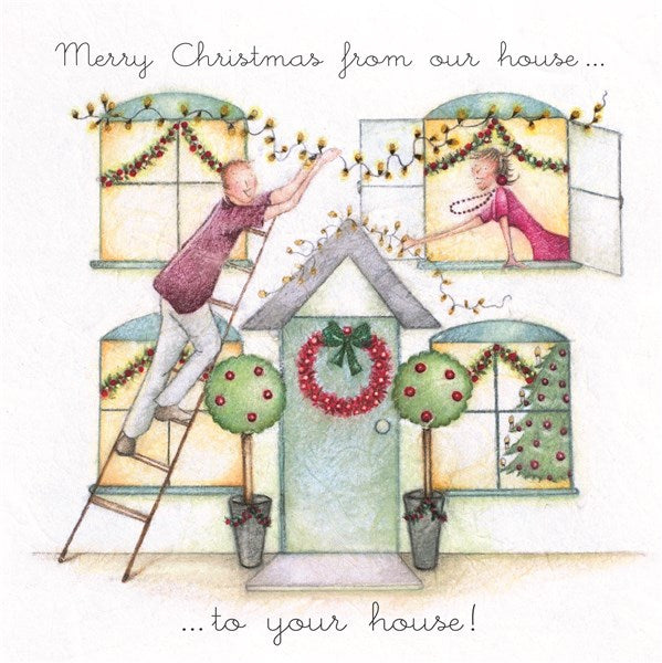 Christmas Card - From our house...to your house! - Berni Parker
