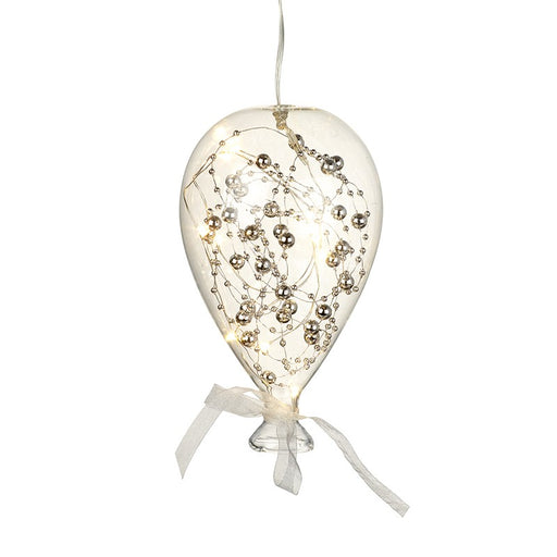 Glass Balloon Hanging LED Christmas Decoration