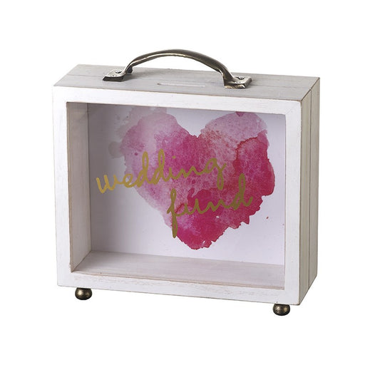 Wedding Fund Money Box - Heart