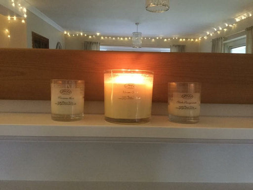 Large Scented Candle 3 Wick - Christmas - Winter Scent