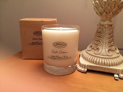 Scented Candle 30cl - Fresh - Fresh Cotton