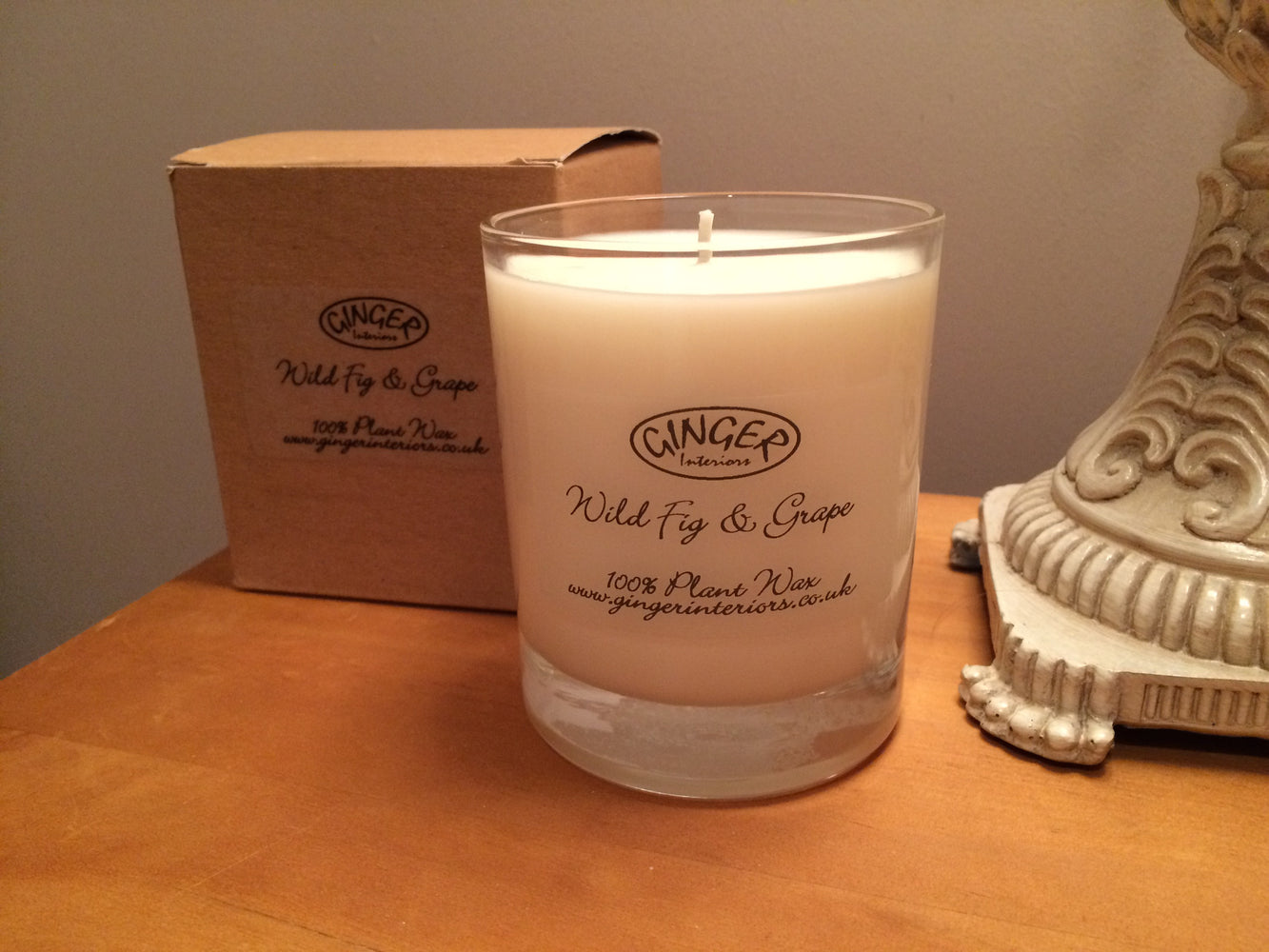 Scented Candle 30cl - Fresh - Wild Fig & Grape