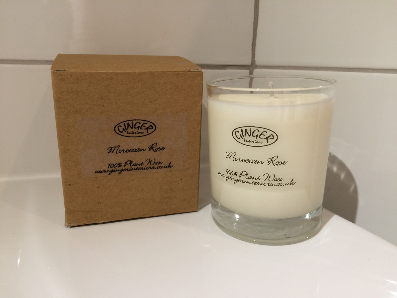 Scented Candle 30cl - Flowers - Moroccan Rose