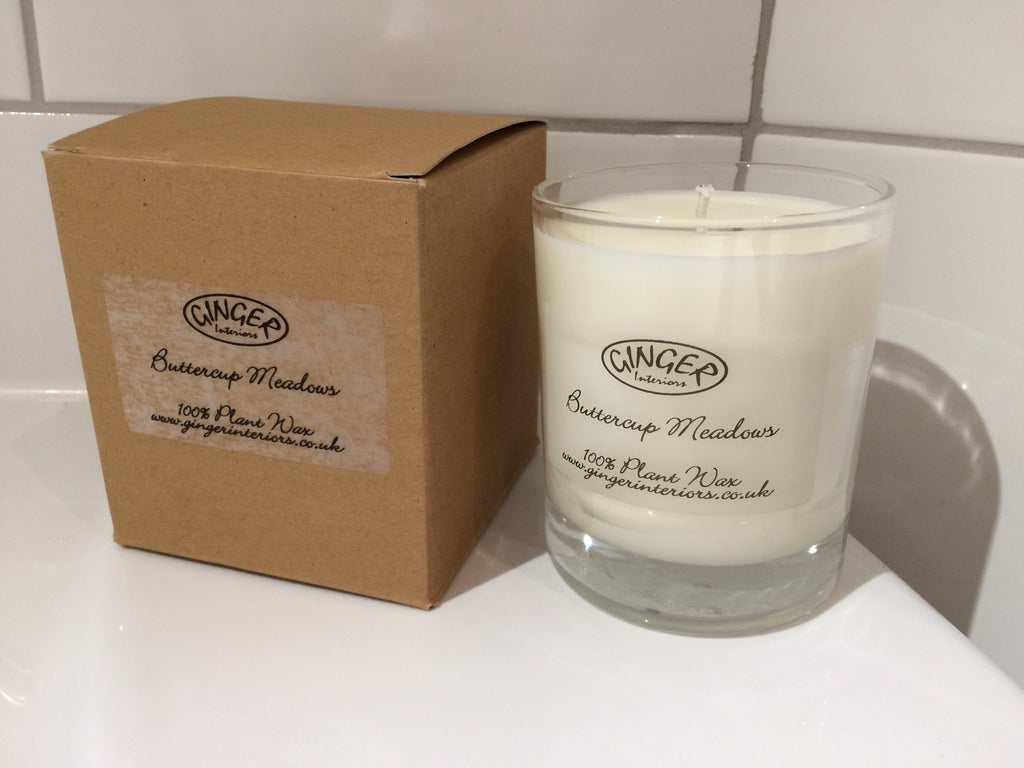 Scented Candle 30cl - Flowers - Buttercup Meadows