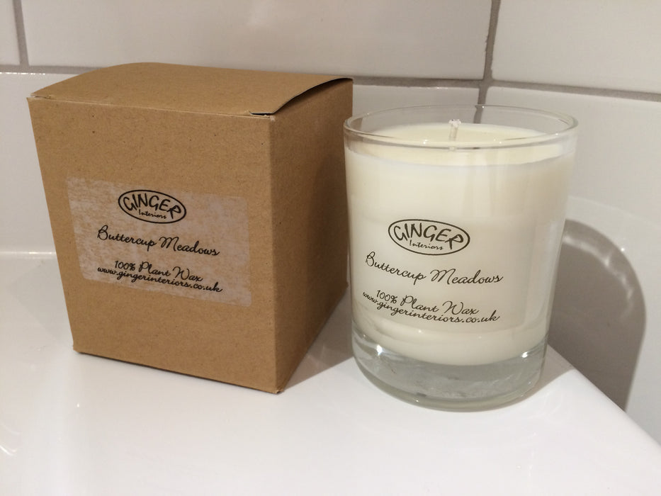Scented Candle 20cl - Flowers - Buttercup Meadows