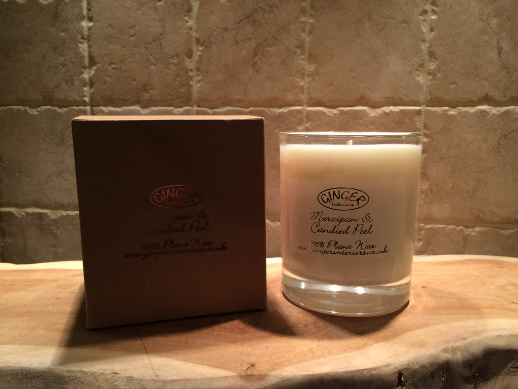 Scented Candle 30cl - Christmas - Marzipan & Candied Peel