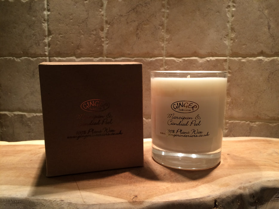 Scented Candle 30cl - Marzipan & Candied Peel