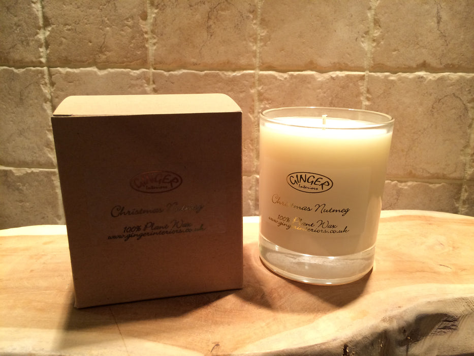 Scented Candle 30cl - Christmas - Christmas Nutmeg