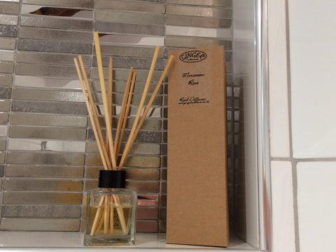 Reed Diffuser 100ml - Flowers - Moroccan Rose
