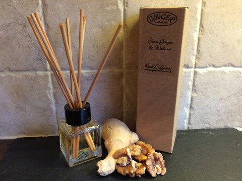 Reed Diffuser 50ml - Kitchen - Stem Ginger & Walnut