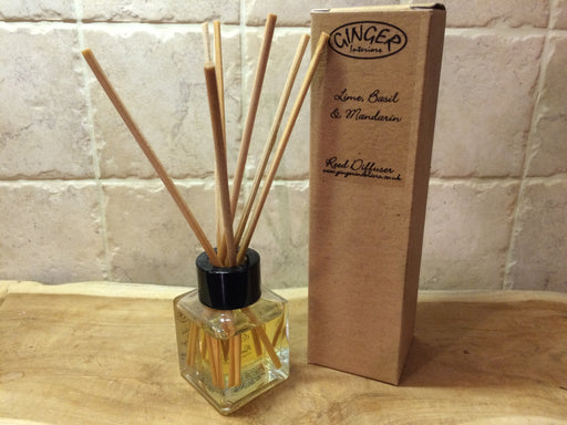 Reed Diffuser 50ml - Citrus -  Lime, Basil & Mandarin