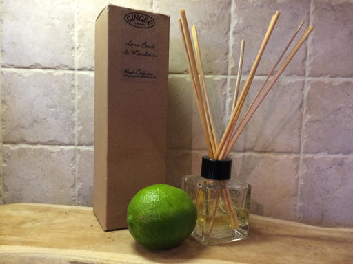 Reed Diffuser 100ml - Citrus - Lime, Basil & Mandarin