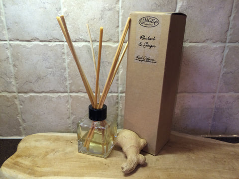Reed Diffuser 100ml - Kitchen - Rhubarb and Ginger