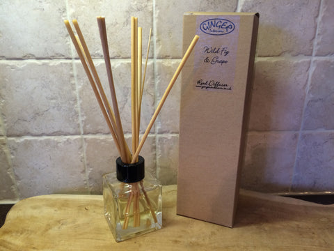 Reed Diffuser 100ml - Fresh - Wild Fig & Grape