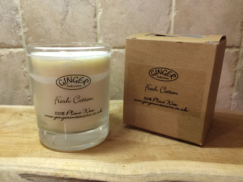 Scented Candle 20cl - Fresh - Fresh Cotton