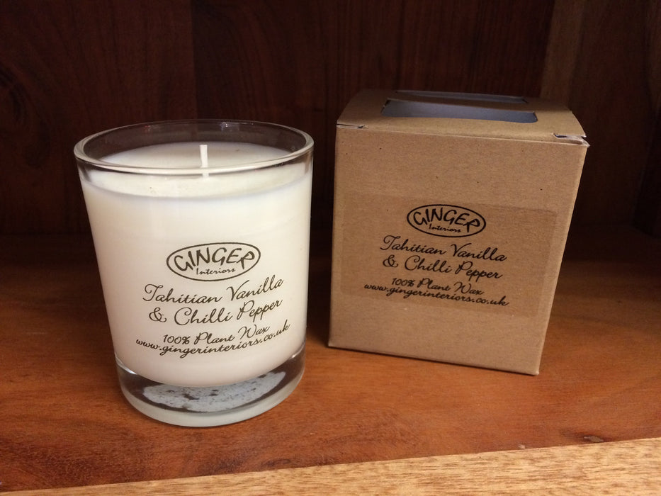 Scented Candle 20cl -Tahitian Vanilla & Chilli Pepper