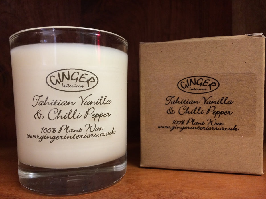 Scented Candle 30cl - Tahitian Vanilla & Chilli Pepper