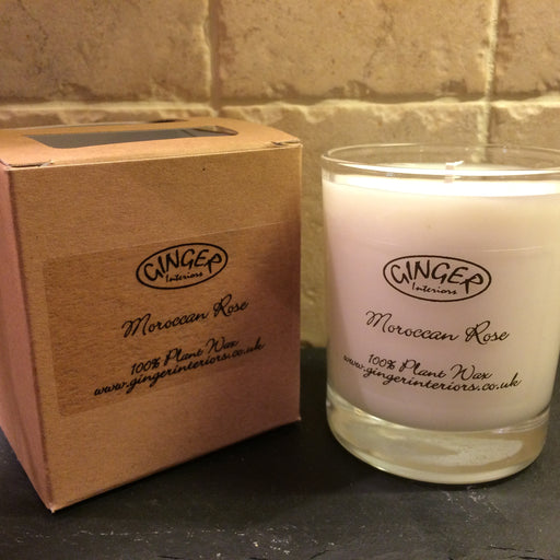 Scented Candle 20cl - Flowers - Moroccan Rose
