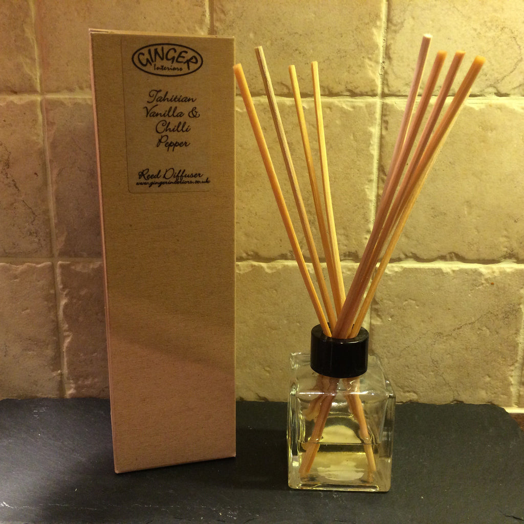 Reed Diffuser 100ml - Kitchen - Tahitian Vanilla & Chilli Pepper
