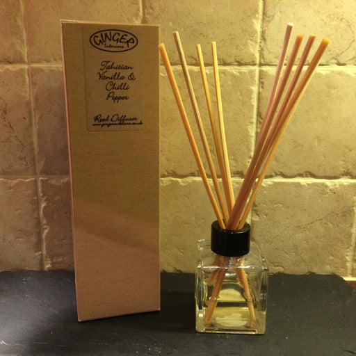 Reed Diffuser 100ml - Tahitian Vanilla & Chilli Pepper