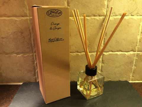 Reed Diffuser 100ml - Citrus - Orange and Ginger