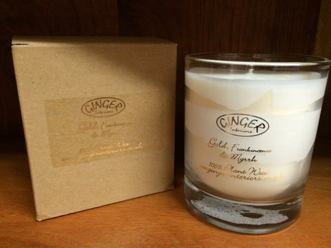 Scented Candle 30cl - Christmas - Gold Frankincense and Myrrh