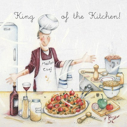 Greeting Card - King of the Kitchen!