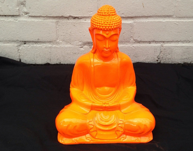 Orange Buddha 30cm