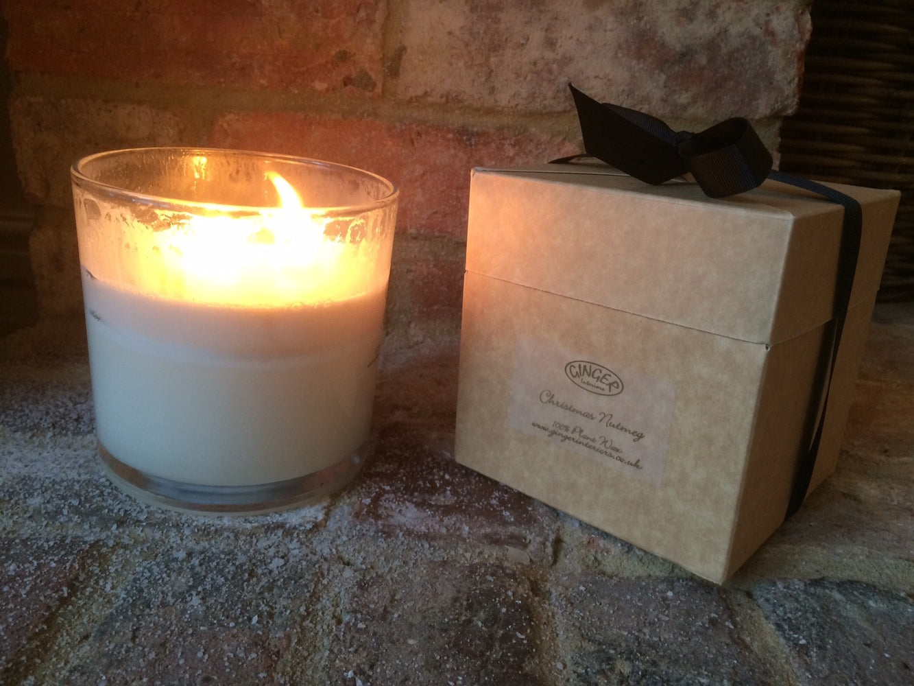 Large Scented Candle 3 Wick - Christmas Nutmeg