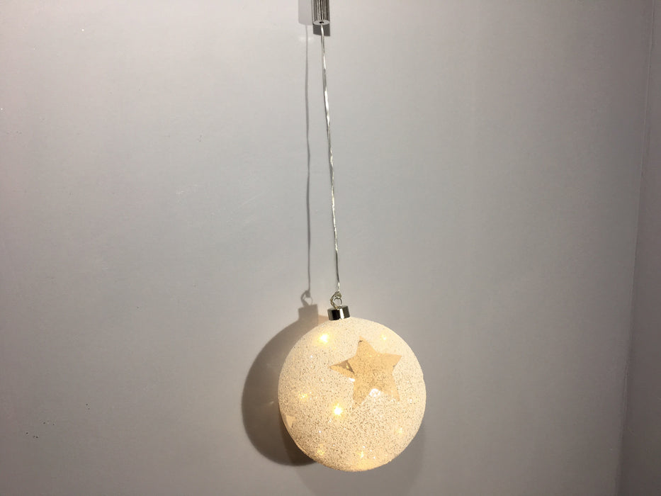 Light up bauble star
