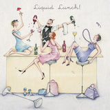 Greeting Card - Liquid Lunch!