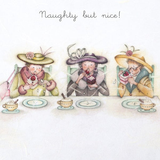 Cake Card - Naughty but nice! Berni Parker