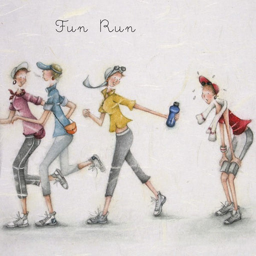 Runner Card - Fun Run! Berni Parker