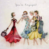 Engagement Card - You're Engaged!  Berni Parker