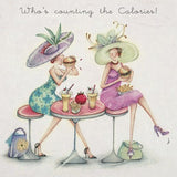 Greeting Card - Who's Counting the Calories? From Berni Parker