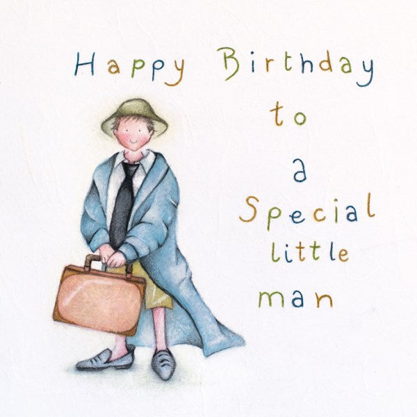 Boy Greeting Card - Happy Birthday to Special little man