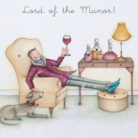 Man Card - Lord of the Manor! Berni Parker