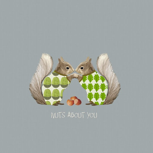 Love Card, Nuts About You. From Sally Scaffardi Design
