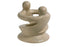 Natural Soapstone Lovers Tealight Holder